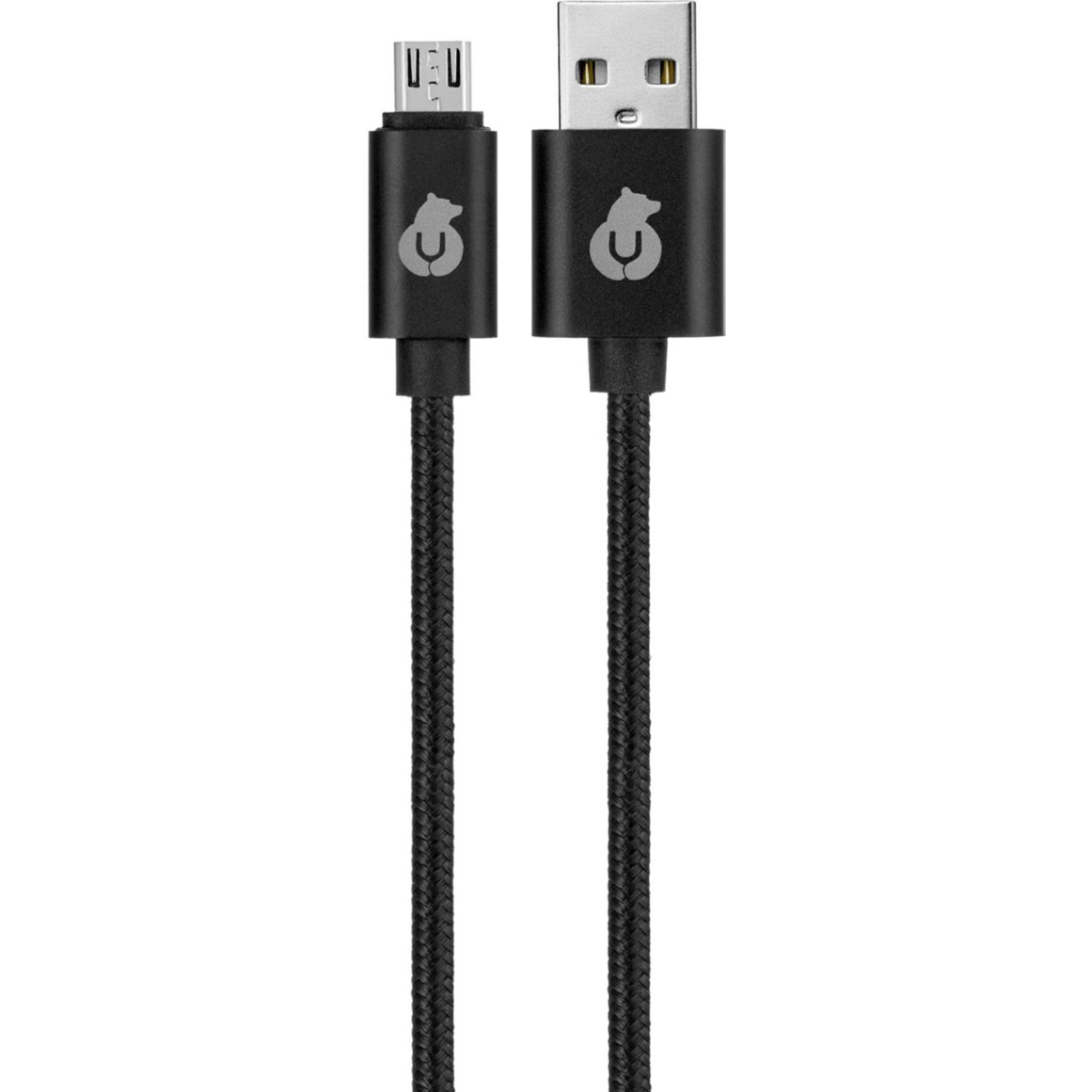 Фото - Кабель uBear Cord micro-USB USB-A DC03BL01-AM 1,2 м Black кабель ubear force usb c usb a dc08bl01 ac 1 2 м черный