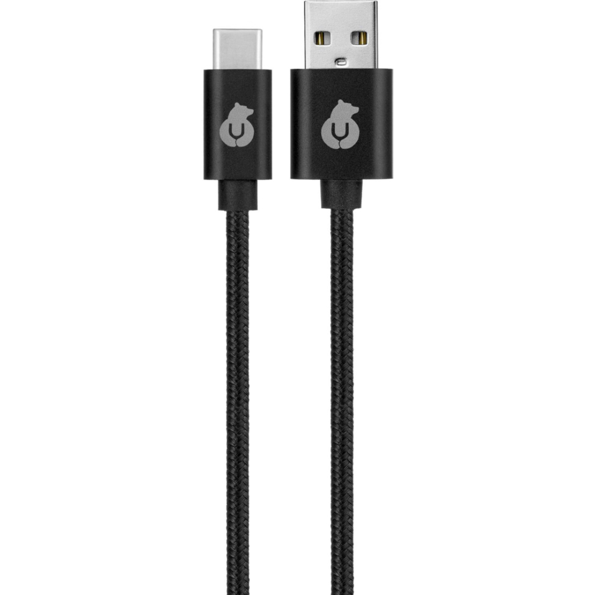 Кабель uBear Cord USB-C USB-A DC07BL01-AC 1,2 м Black