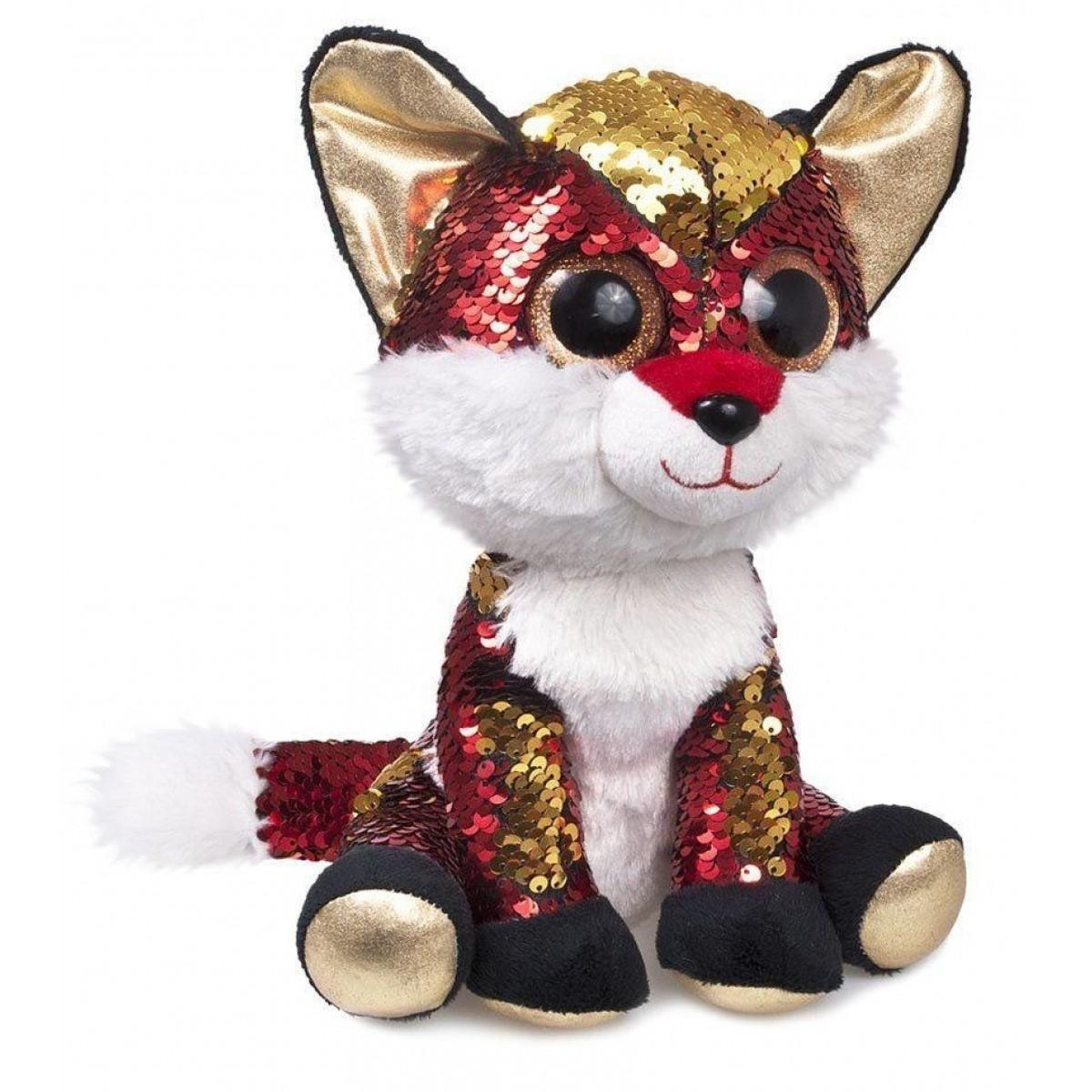 Мягкая игрушка Fancy Лисенок Опал 15 см мягкая игрушка fancy ленивец 27 см