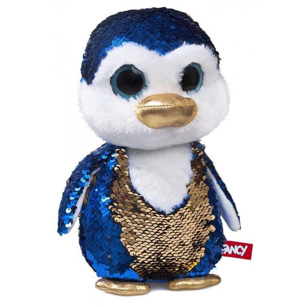 Мягкая игрушка Fancy Пингвинчик Сапфир 15 см мягкая игрушка fancy ленивец 27 см