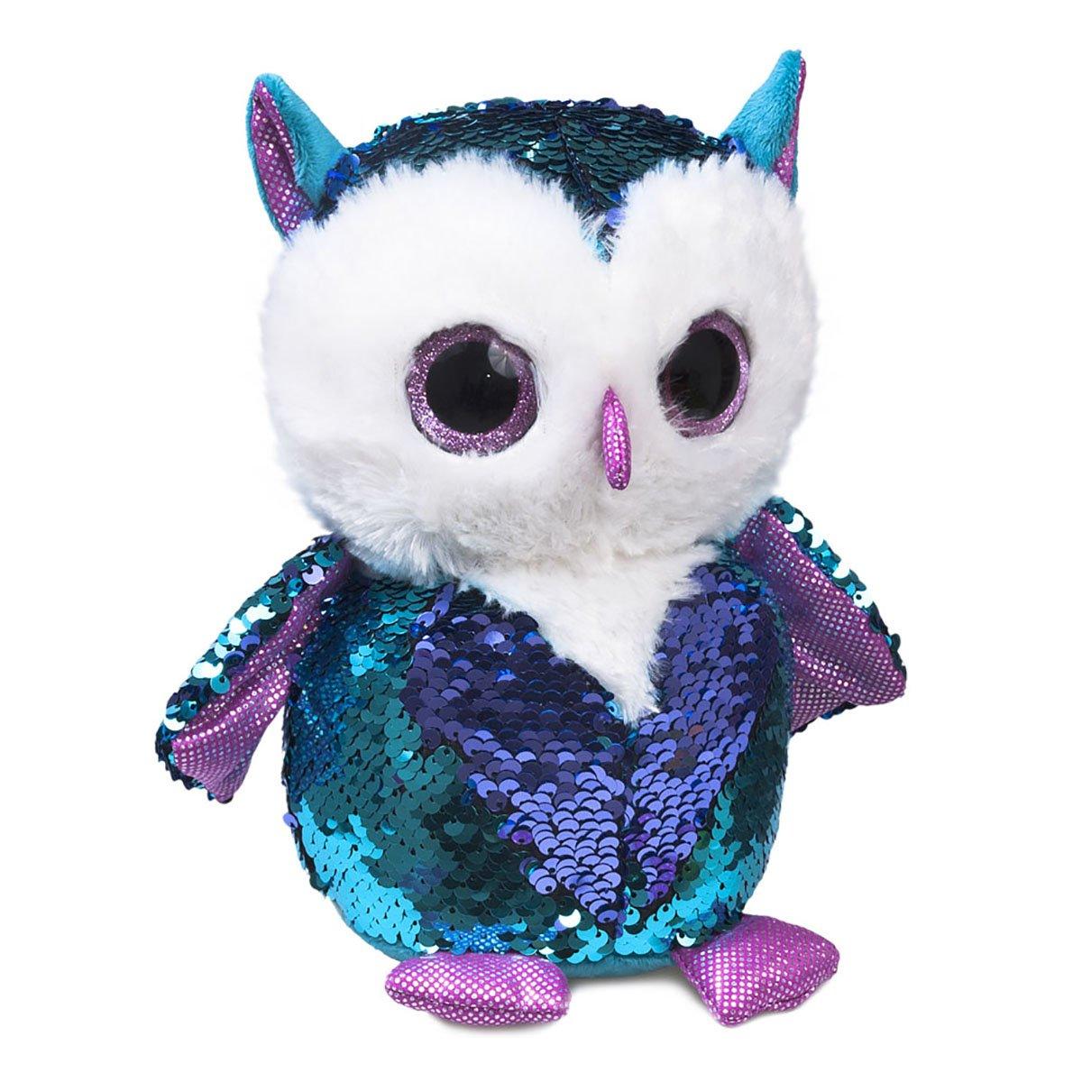 Мягкая игрушка Fancy Совенок Топаз 15 см мягкая игрушка fancy ленивец 27 см