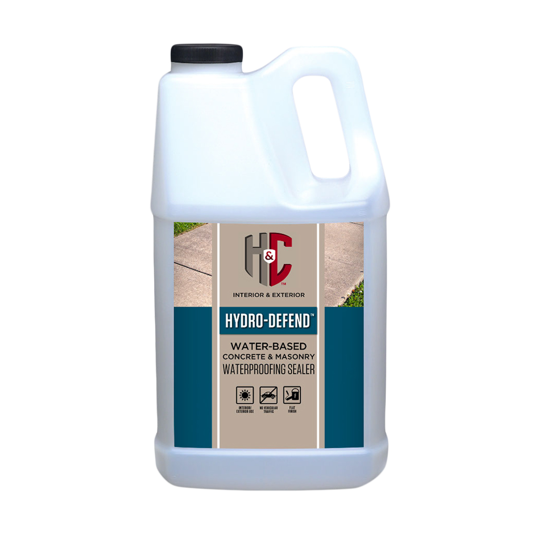 фото Гидрофобизатор sherwin-williams hydro-defend water-based concrete masonry waterproofing sealer 3,8 л