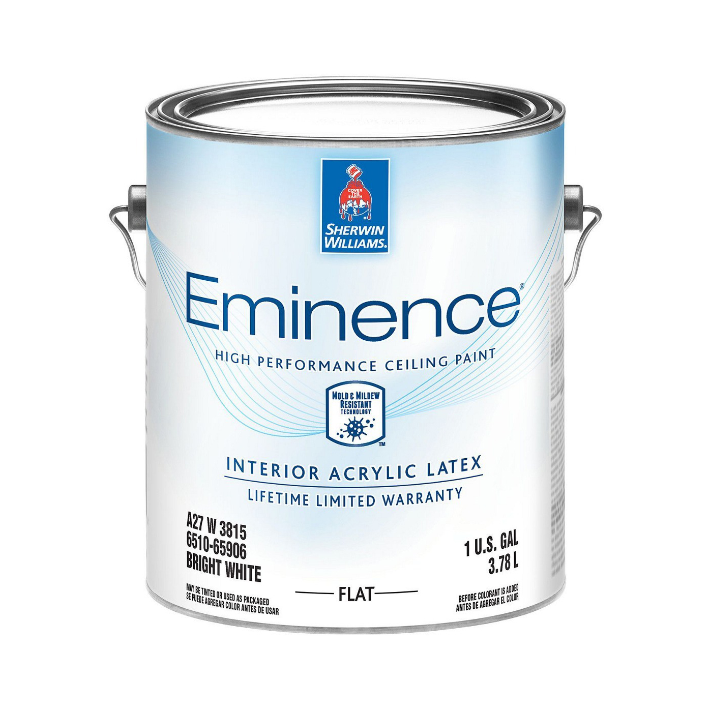 Краска Sherwin-Williams Eminence High Performance Ceiling Paint 3,8 л