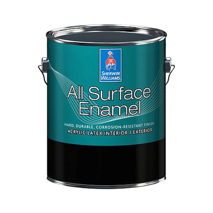 Фото - Эмаль Sherwin-Williams All Surface Enamel Latex High Satin Ultra 1 л эмаль sherwin williams all surface enamel latex gloss белая 3 8 л