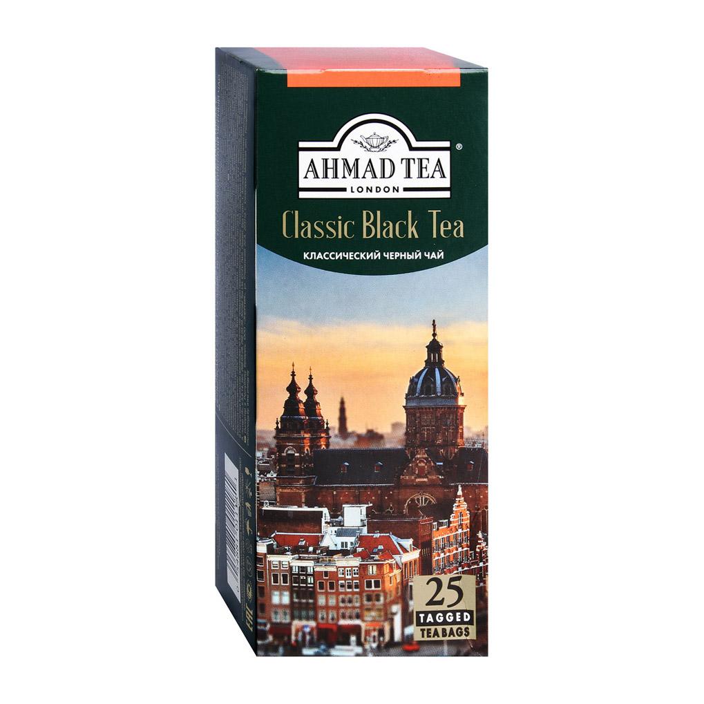 Фото - Чай Ahmad Classic Black Tea черный 25 пакетиков chinese ancient trees black tea leaves