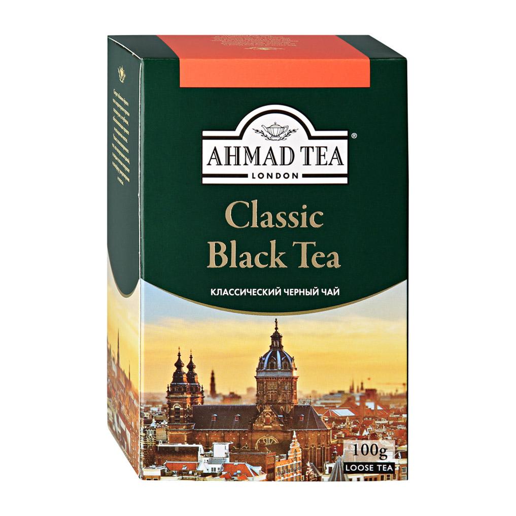 Фото - Чай Ahmad Tea Classic Black Tea черный 100 г chinese ancient trees black tea leaves