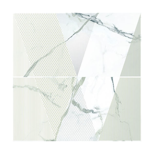 карманы и панно Панно Kerlife Arabescato Bianco 63x63 см