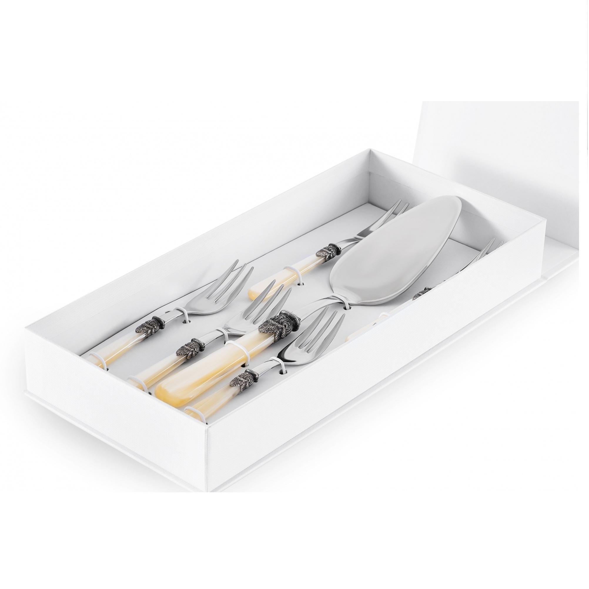 Набор сервировочный для десертов Gipfel royal 7 предметов набор посуды gipfel antea 7 предметов