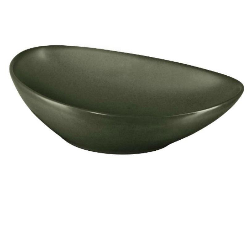 Фото - Тарелка для салата Asa selection Cubaverde 21,5 см ваза полосатая asa selection 28 см черно белая
