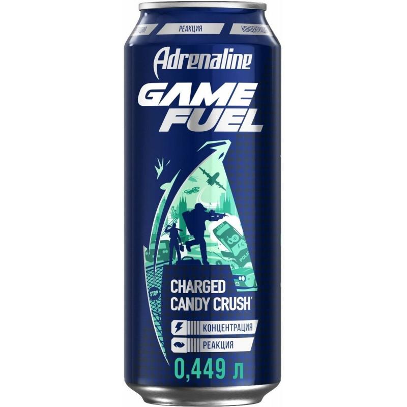 Напиток энергетический Adrenaline Game Fuel 449 мл