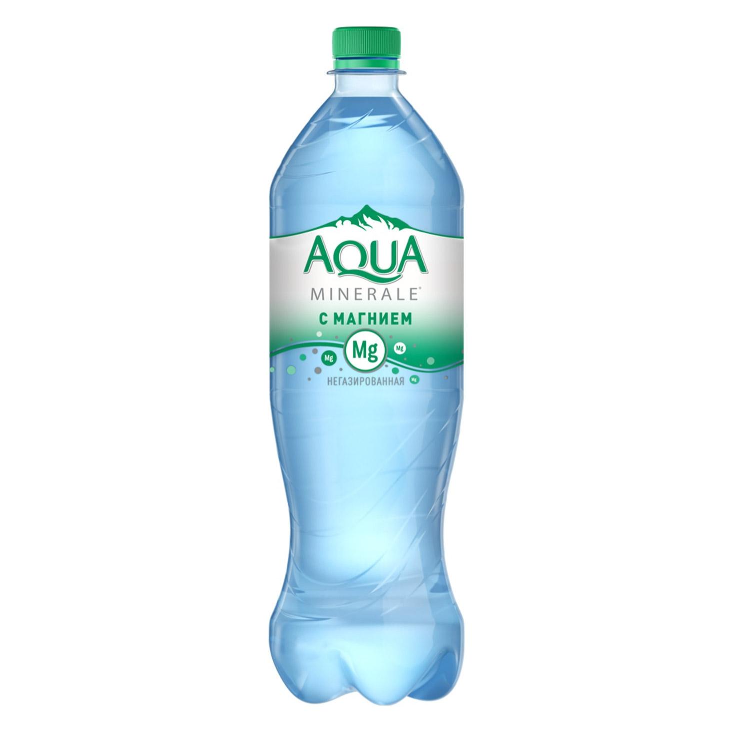 Вода Aqua Minerale Plus с магнием 1 л