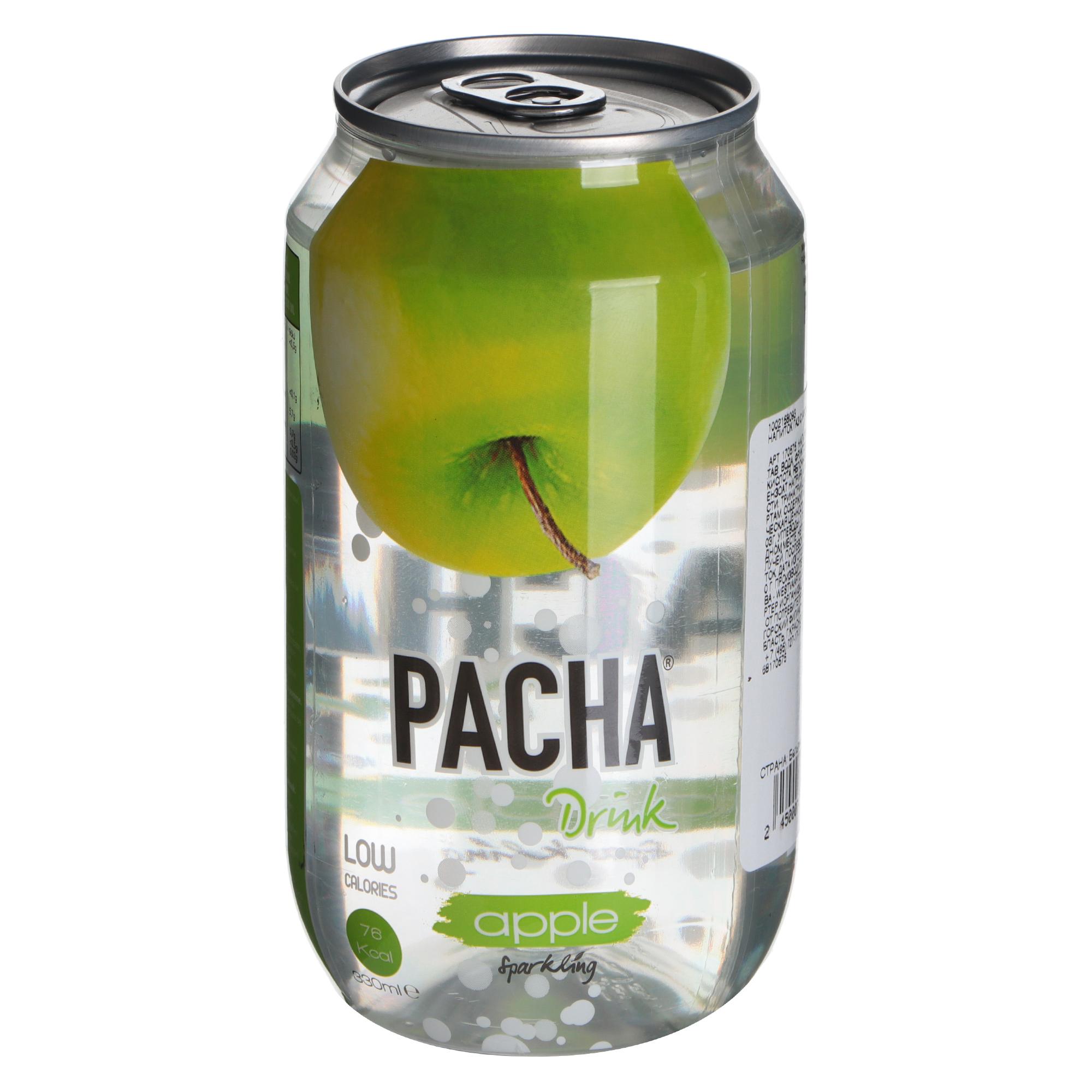 Напиток PACHA Drink Яблоко 330 мл