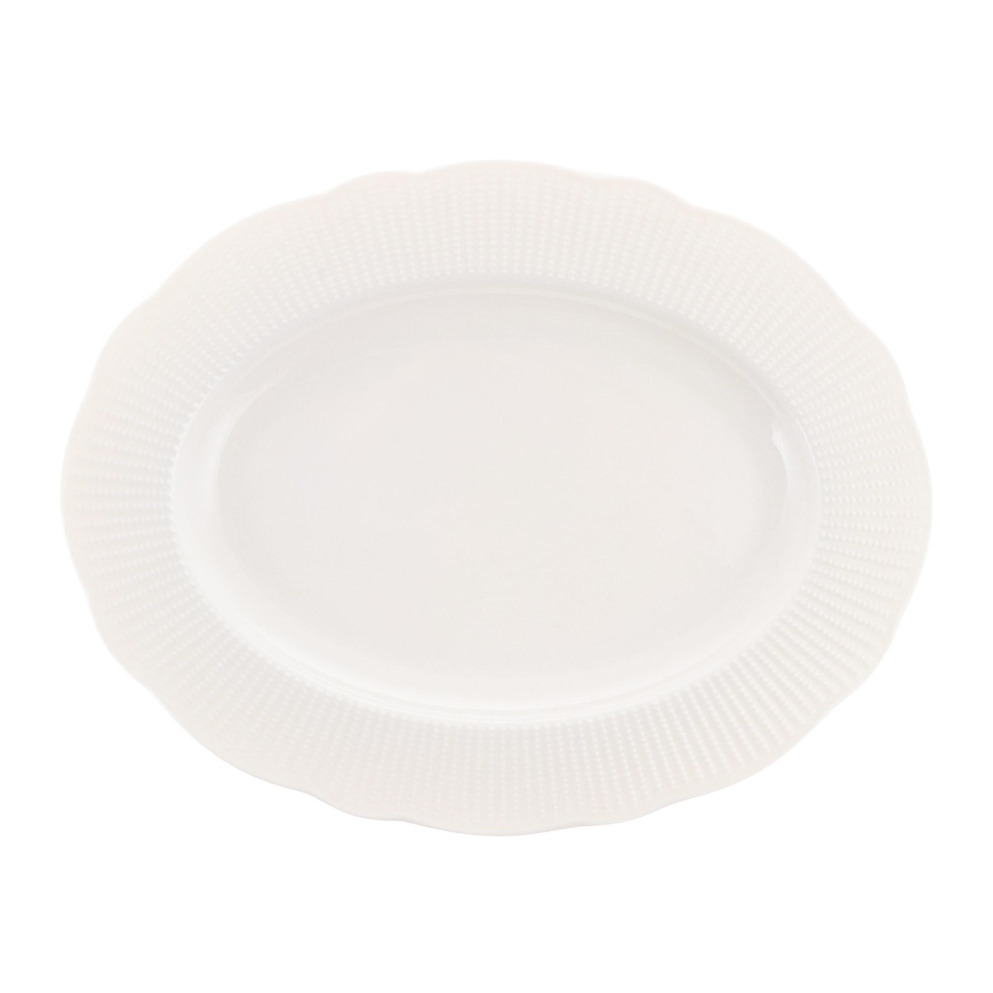 Фото - Блюдо овальное 28 см Kutahya Porselen ilay недекорированное блюдо овальное газания 28 см prt bg06600 x 20 portmeirion