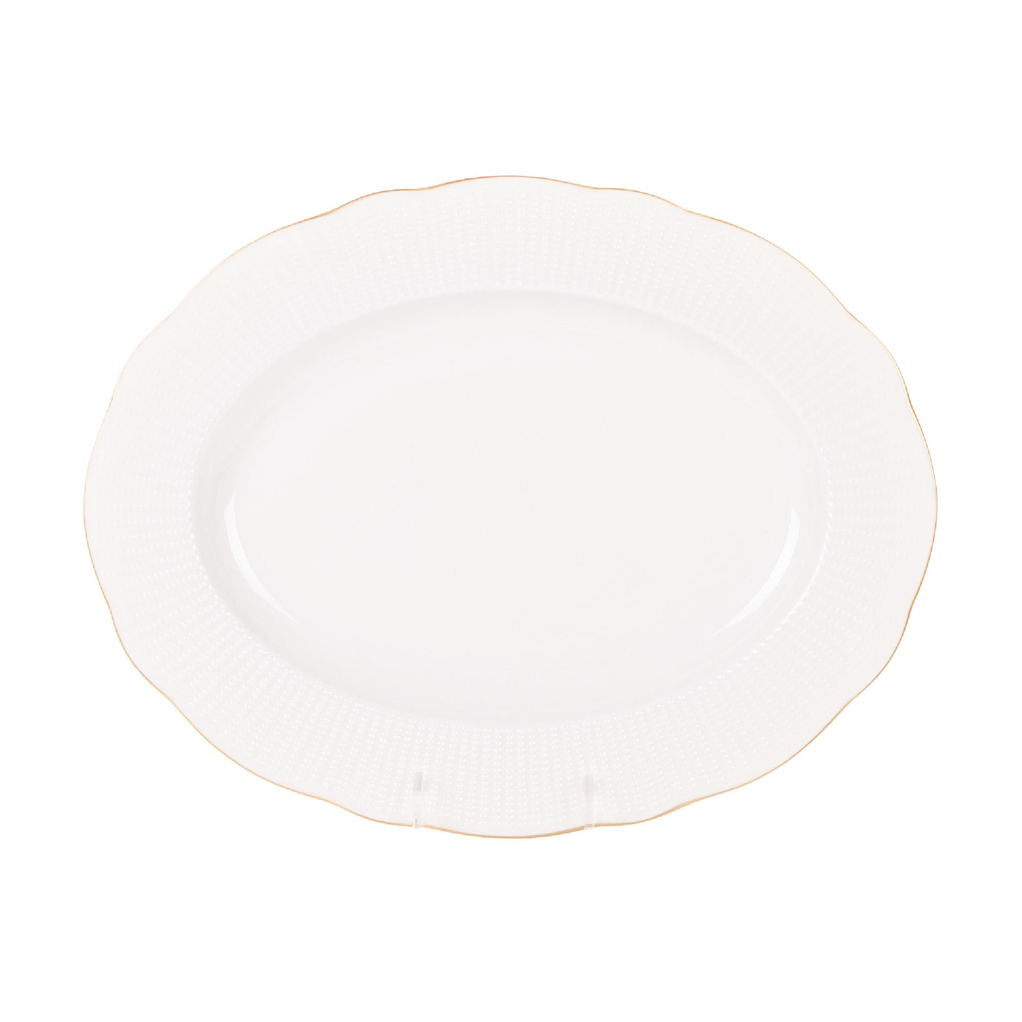 Фото - Блюдо овальное 28 см, Kutahya Porselen ilay отводка золото блюдо овальное газания 28 см prt bg06600 x 20 portmeirion