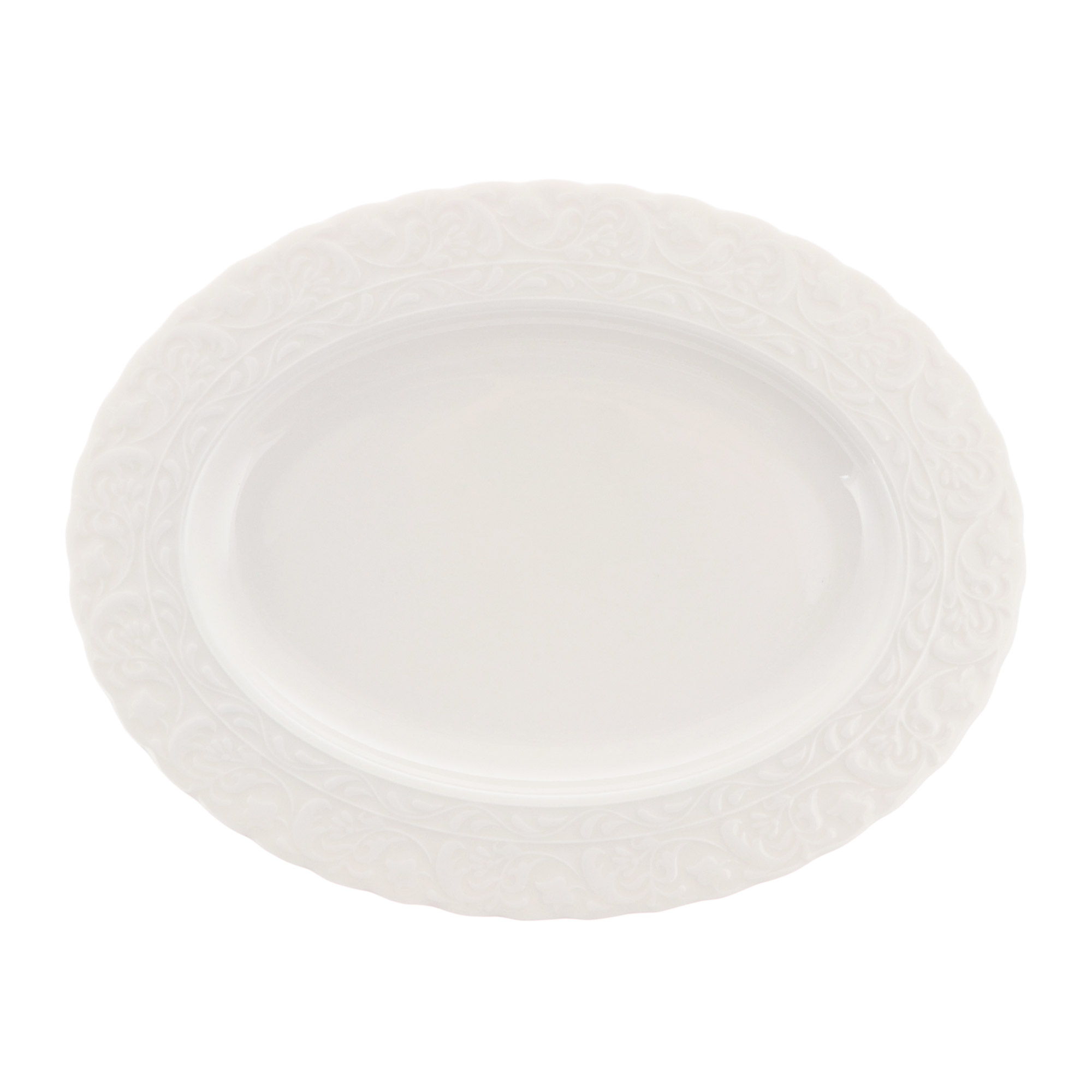 Фото - Блюдо овальное 28 см Kutahya Porselen basak недекорированное блюдо овальное газания 28 см prt bg06600 x 20 portmeirion