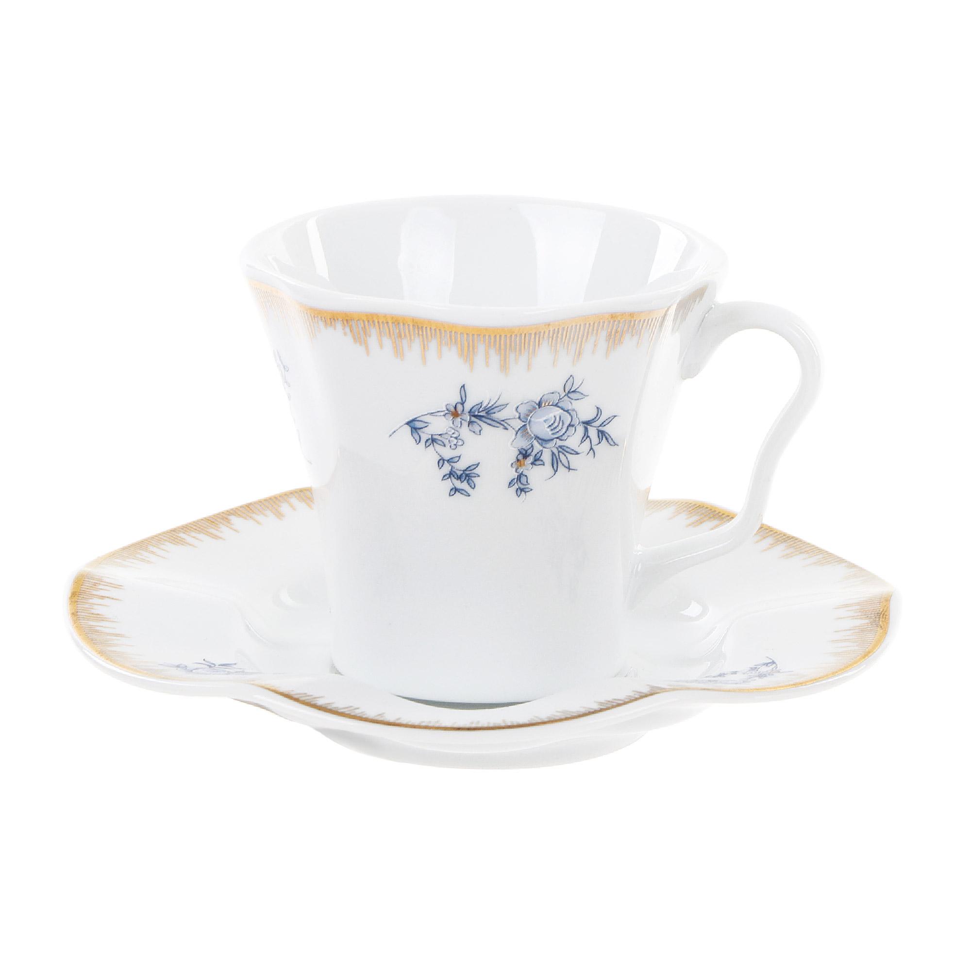 Чашка с блюдцем кофейная 80 мл Kutahya porselen nil
