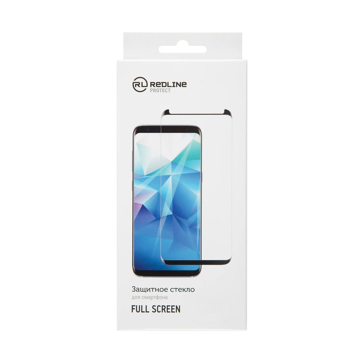 Защитное стекло Red Line Full Screen для Samsung Galaxy A40, черный фото