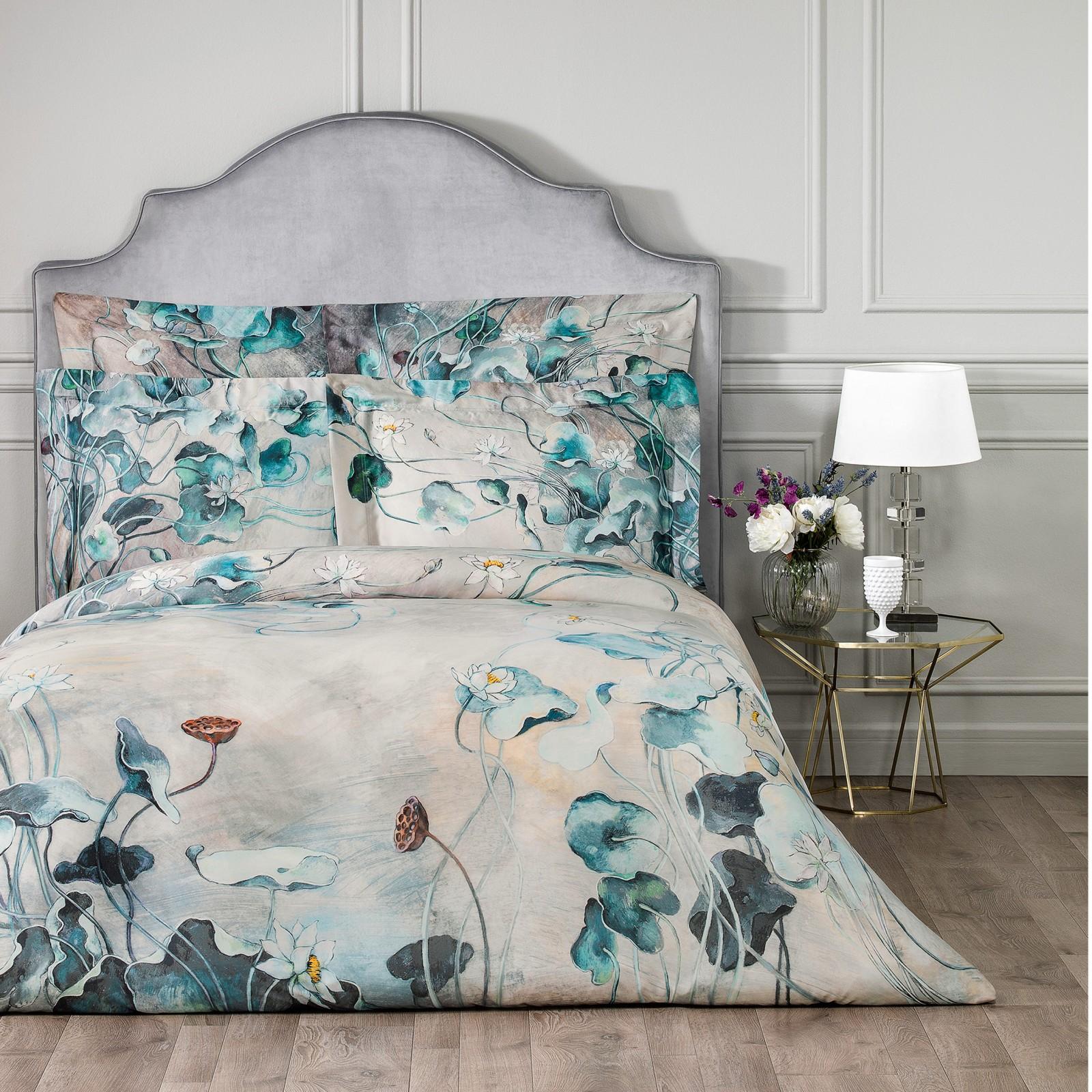 Фото - Постельный комплект Togas Лотос двуспальный постельный комплект togas кеннет темно синий двуспальный