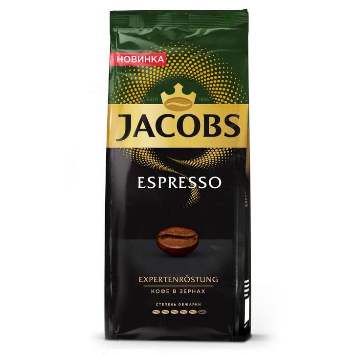 Кофе в зернах Jacobs Espresso 230 г