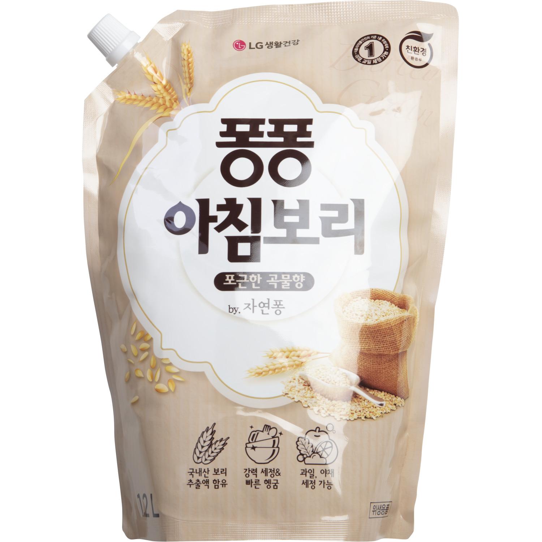Средство для мытья посуды LG Household & Health Care Pong Barley Grain 1200 мл