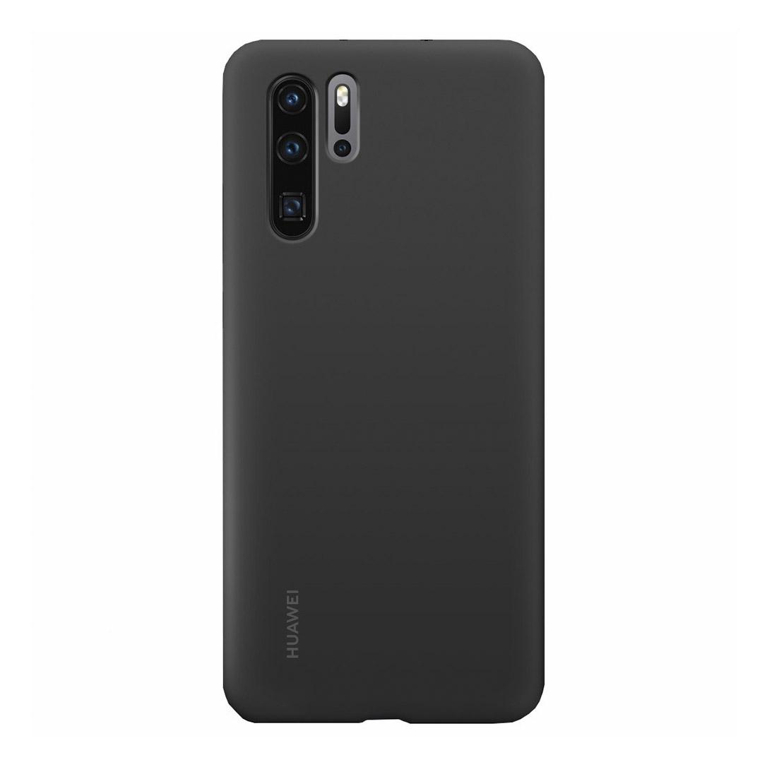 Чехол для смартфона Huawei P30 Pro Silicone Case, черный