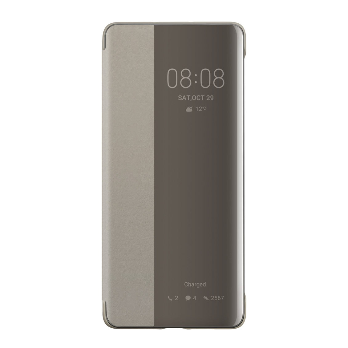 чехол honor smart view flip cover для 20 pro blue 51993394 Чехол для смартфона Huawei P30 Pro Smart View Flip Cover, хаки