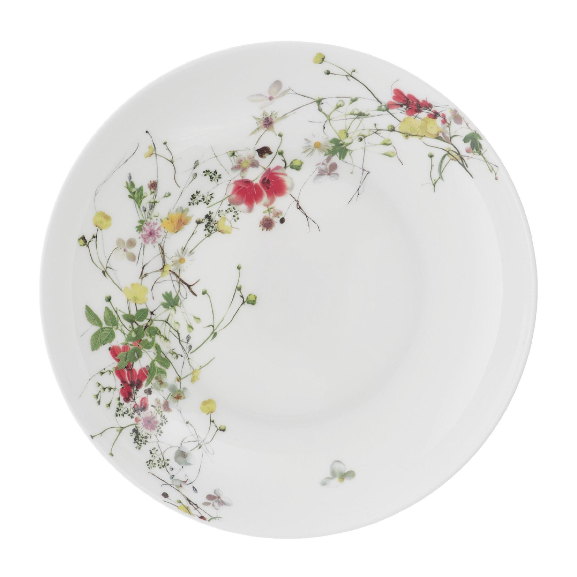 rosenthal selection brillance fleurs sauvages тарелка coup 27 см Тарелка подстановочная 32см Rosenthal дикие цветы