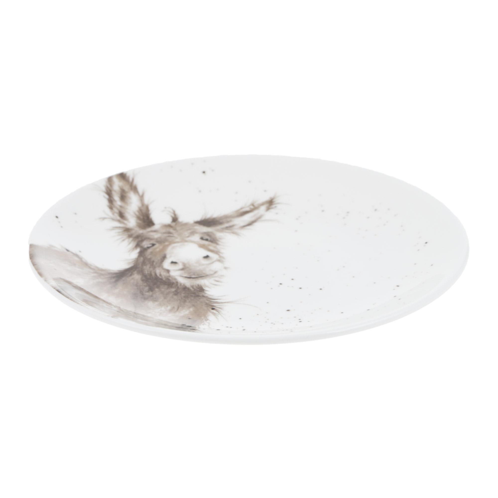 Тарелка десертная 16,5см Royal Worcester забавная фауна ослик фото