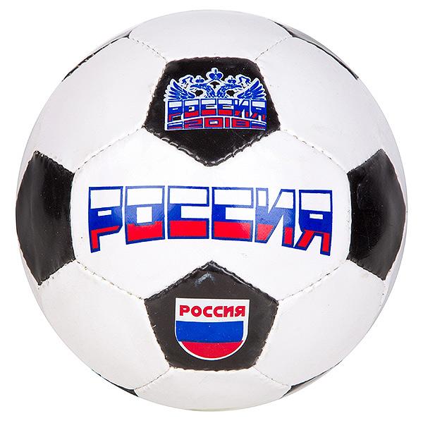 Мяч футбольный,230/250г, №5, PVC , matt, 1poly cot,