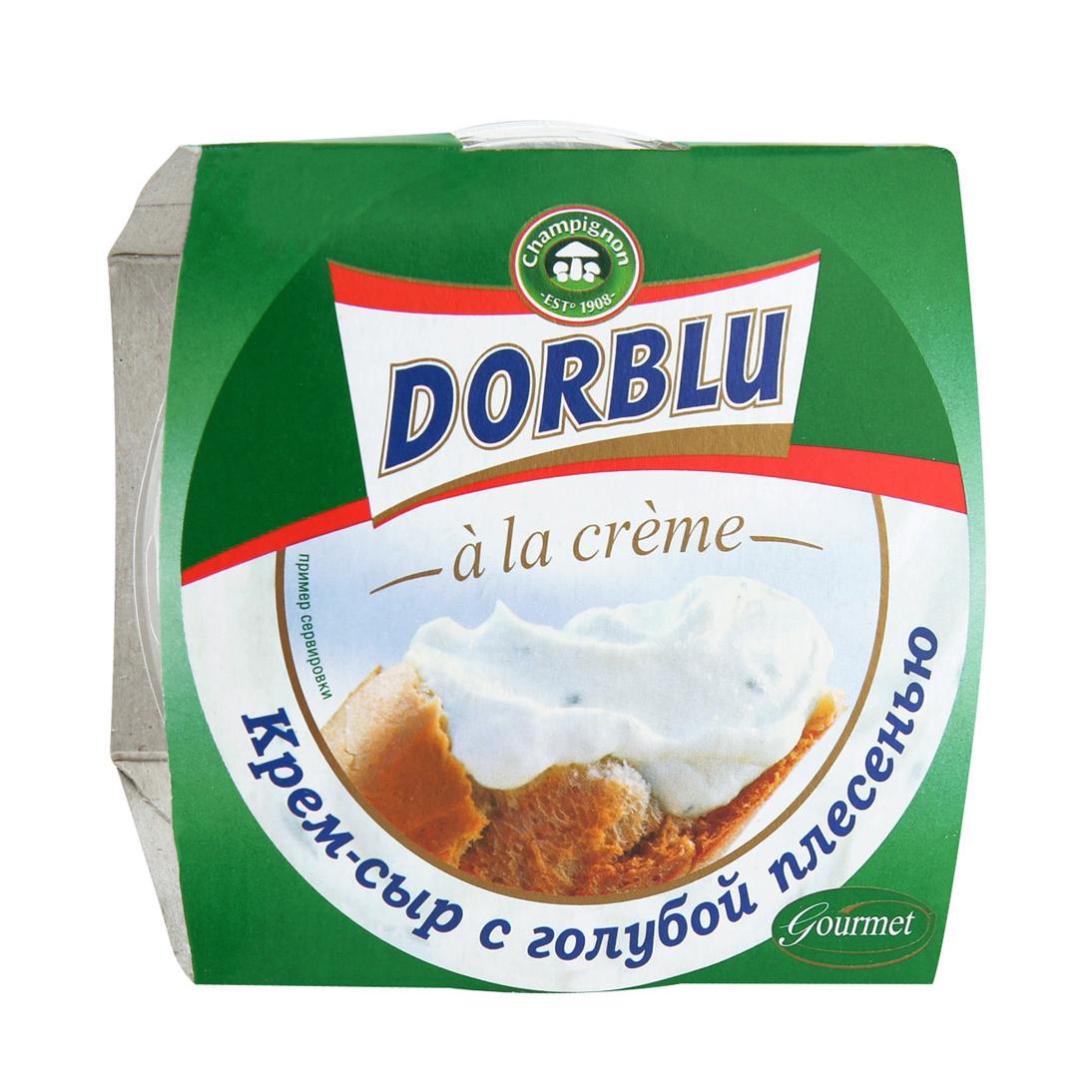 Крем-сыр Dorblu a la creme с голубой плесенью 65% 80 г creme de la creme