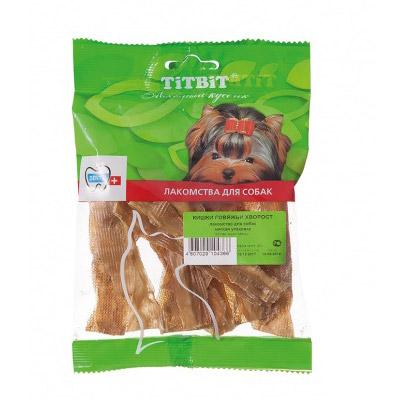 Лакомство для собак Titbit Кишки говяжьи хворост 50 г недорого