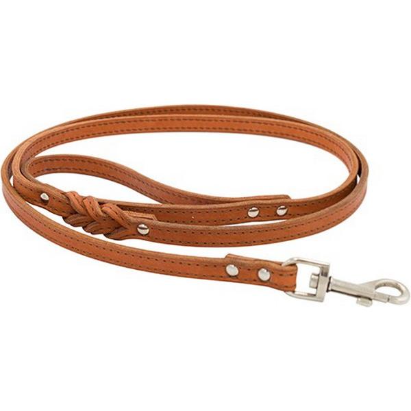 Поводок для собак ZOOEXPRESS 2 сл 14 мм 1,2 м Рыжий