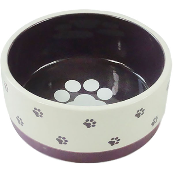 Миска для животных Foxie Paws фиолетовая 360 мл.