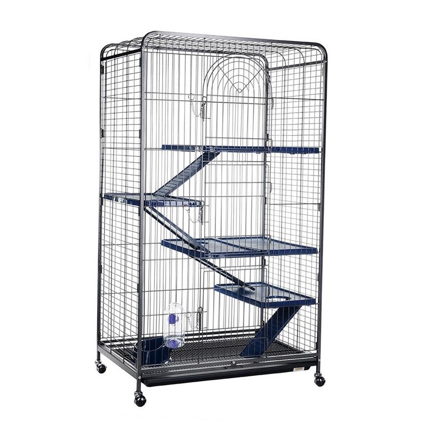 Клетка для грызунов KREDO для шиншилл 79х52х139,5 см