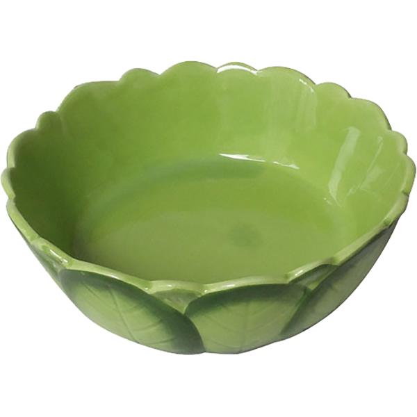 Купить Миска для грызунов MAJOR Cabbage 180 мл, кормушка, зеленый, керамика