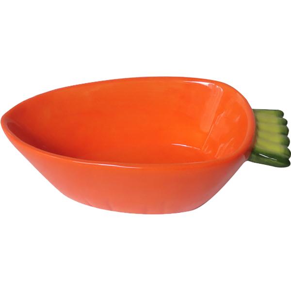 Купить Миска для грызунов MAJOR Carrot 150 мл, кормушка, оранжевый, керамика
