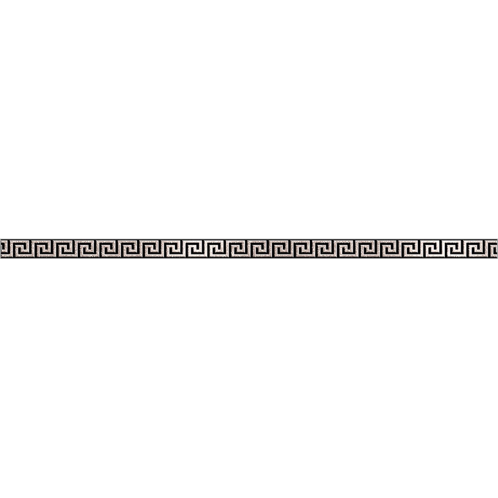 Бордюр Керамика Будущего Крит черный 25x60 см.