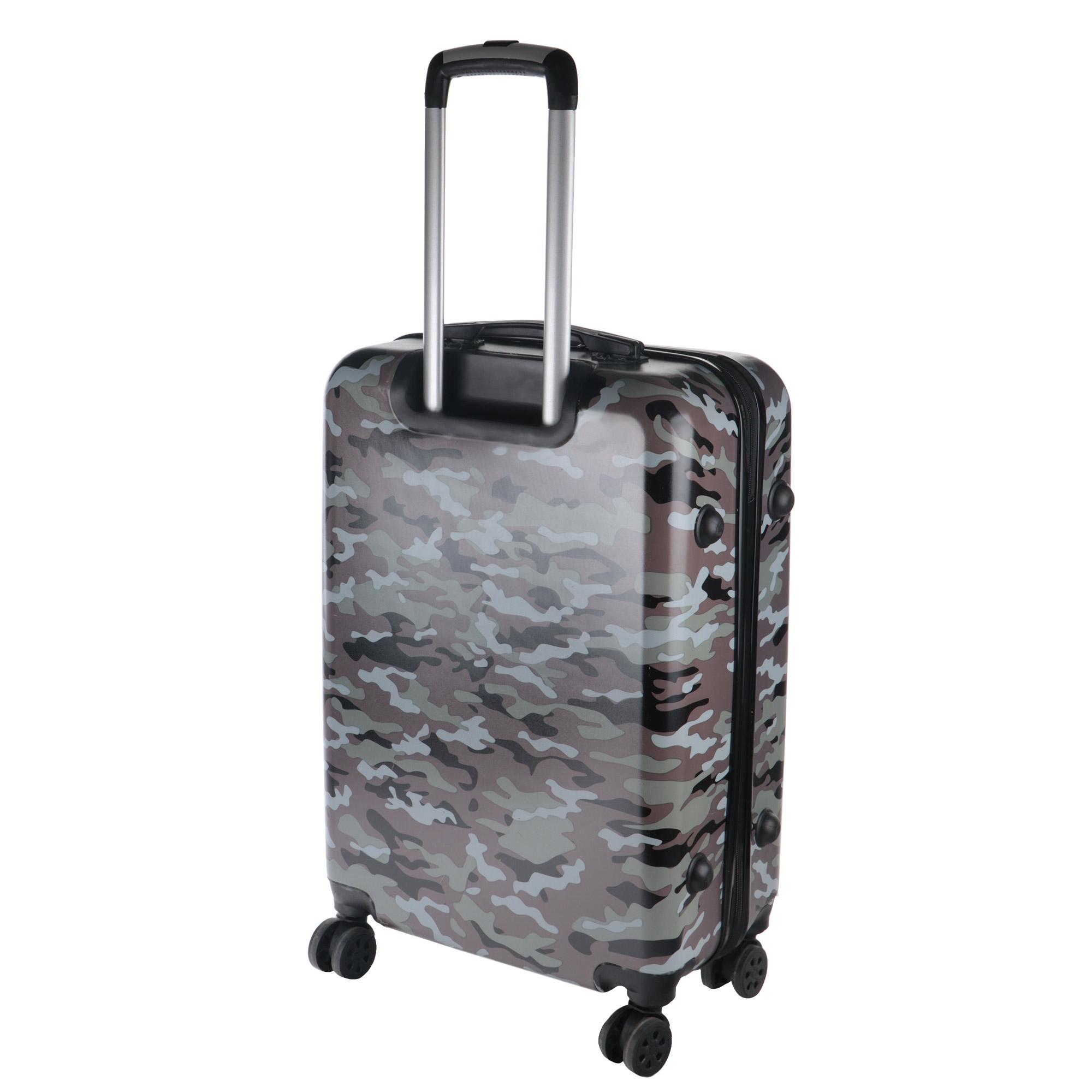 Чемодан Proffi Travel panorama 20 малый 54x34х22см хаки чемодан proffi travel proffi travel mp002xu02him