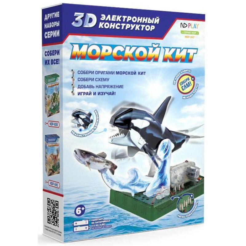 Фото - Электронный 3D-конструктор ND Play Морской кит play