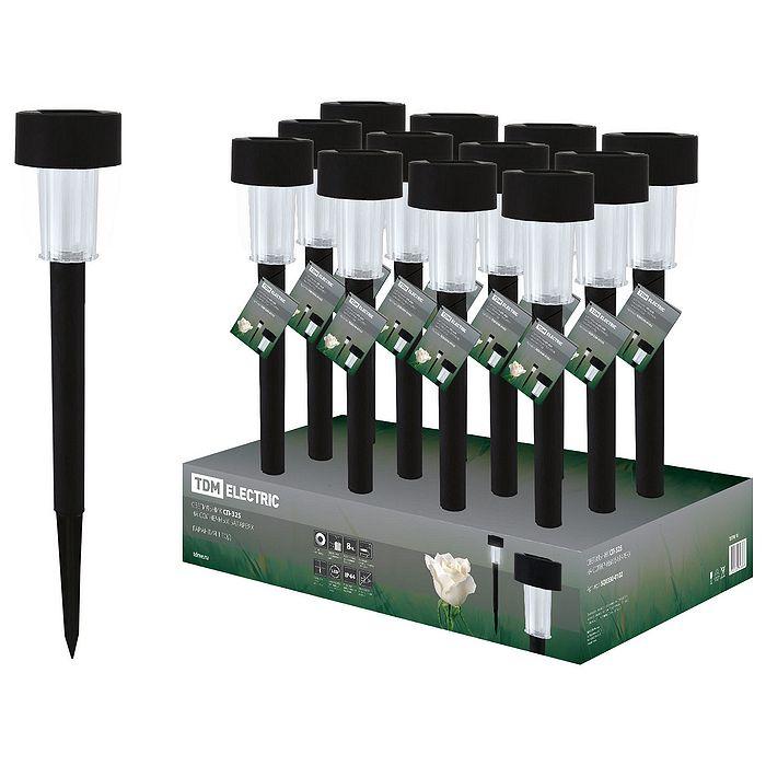 Светильник Tdm electric сп-325 на солнечных батареях