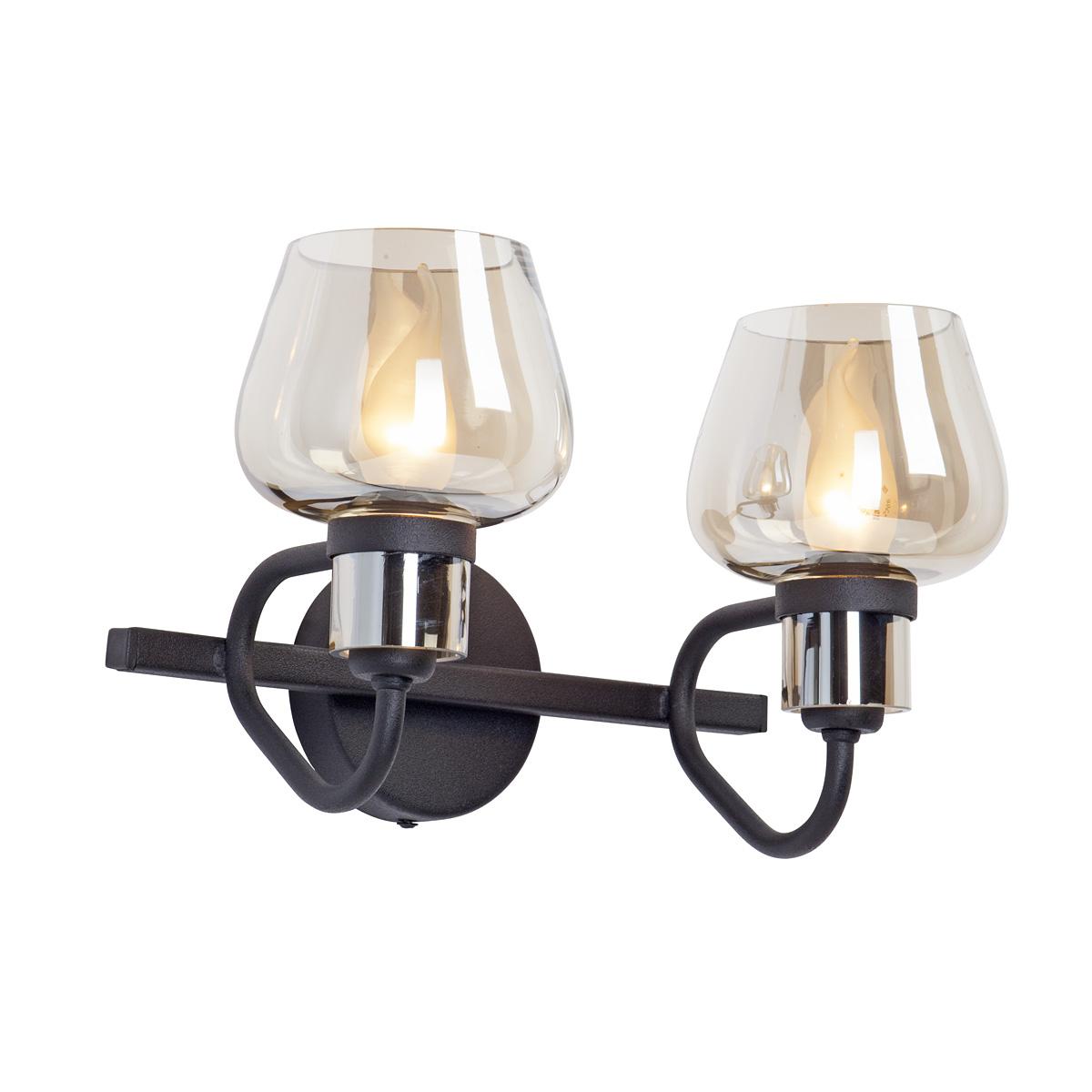 Светильник настенный Vitaluce V4597-1/2A, 2xE14 макс. 40Вт светильник настенный vitaluce v1094 2a