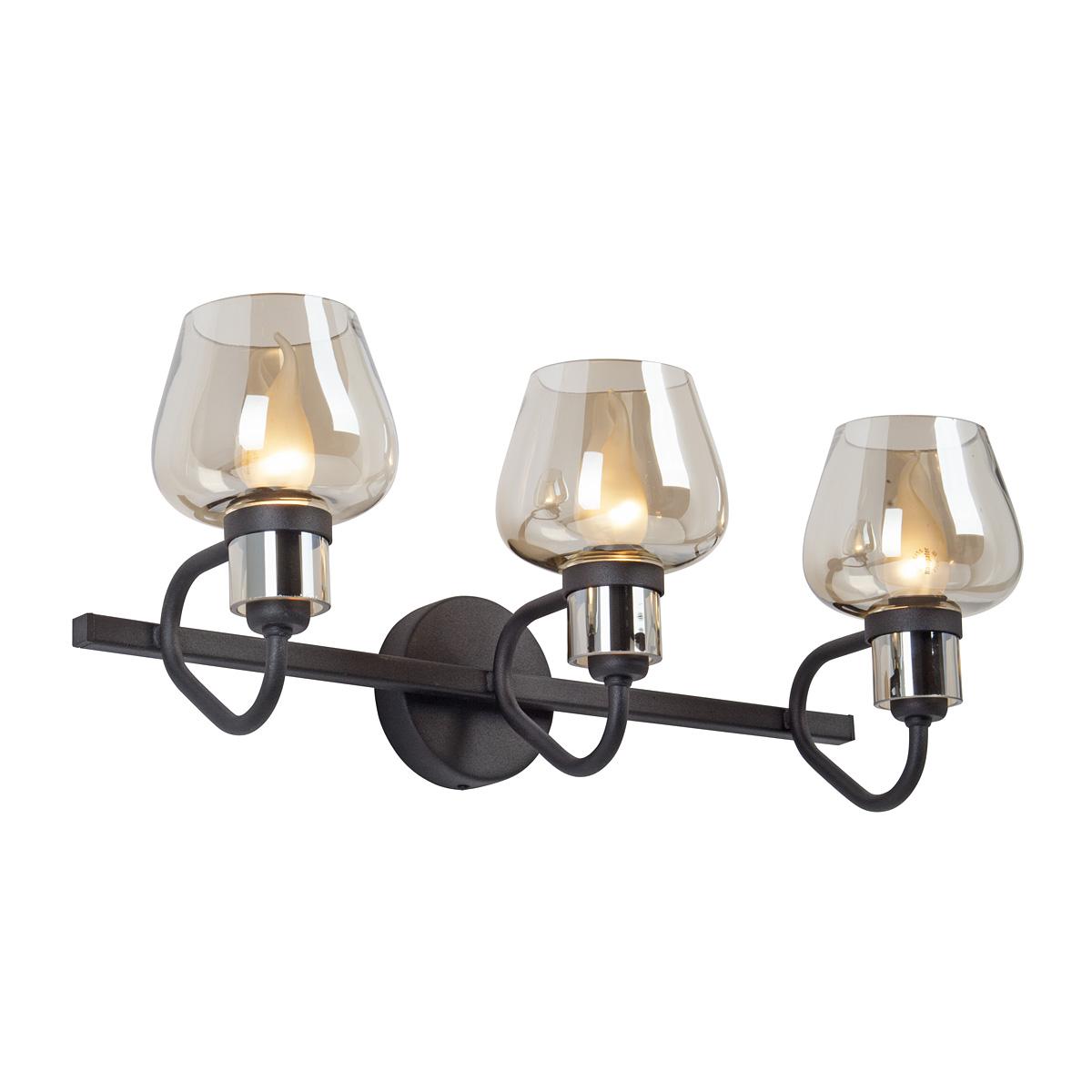 Светильник настенный Vitaluce V4597-1/3A, 3xE14 макс. 40Вт подвесной светильник colosseo 80919 3a mario