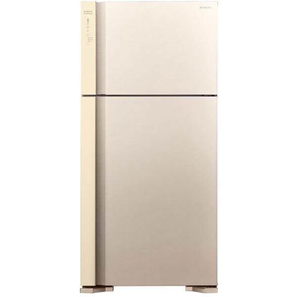 Холодильник Hitachi R-V 662 PU7 BEG двухкамерный холодильник hitachi r v 662 pu7 bsl серебристый бриллиант