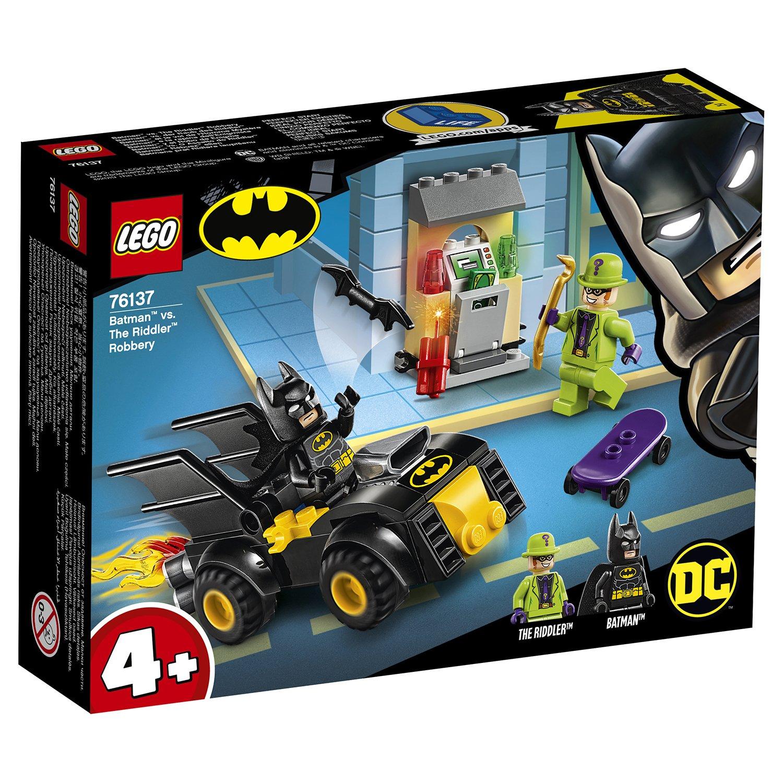 Конструктор LEGO Super Heroes Бэтмен и ограбление Загадочника фото