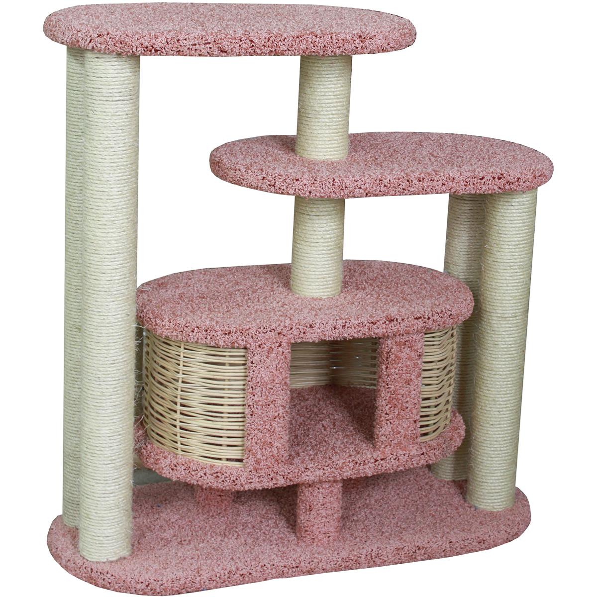 Домик для кошек Пушок Ковролиновый Маруська