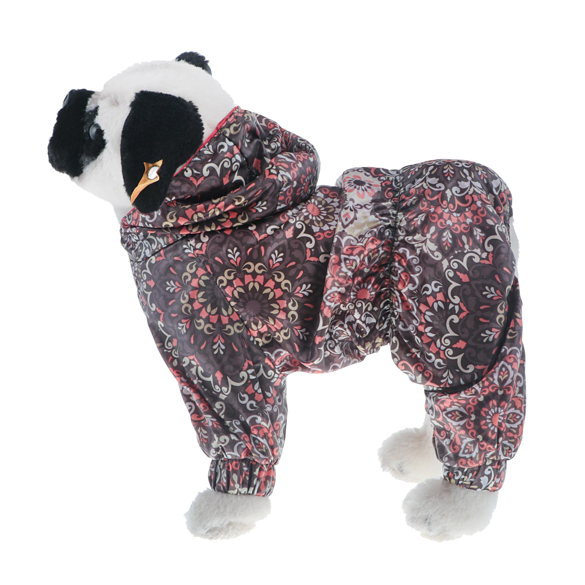 Дождевик для собак Happy Puppy спорт -7 (сиба-ину, бассенжди) фуксия 40см фото