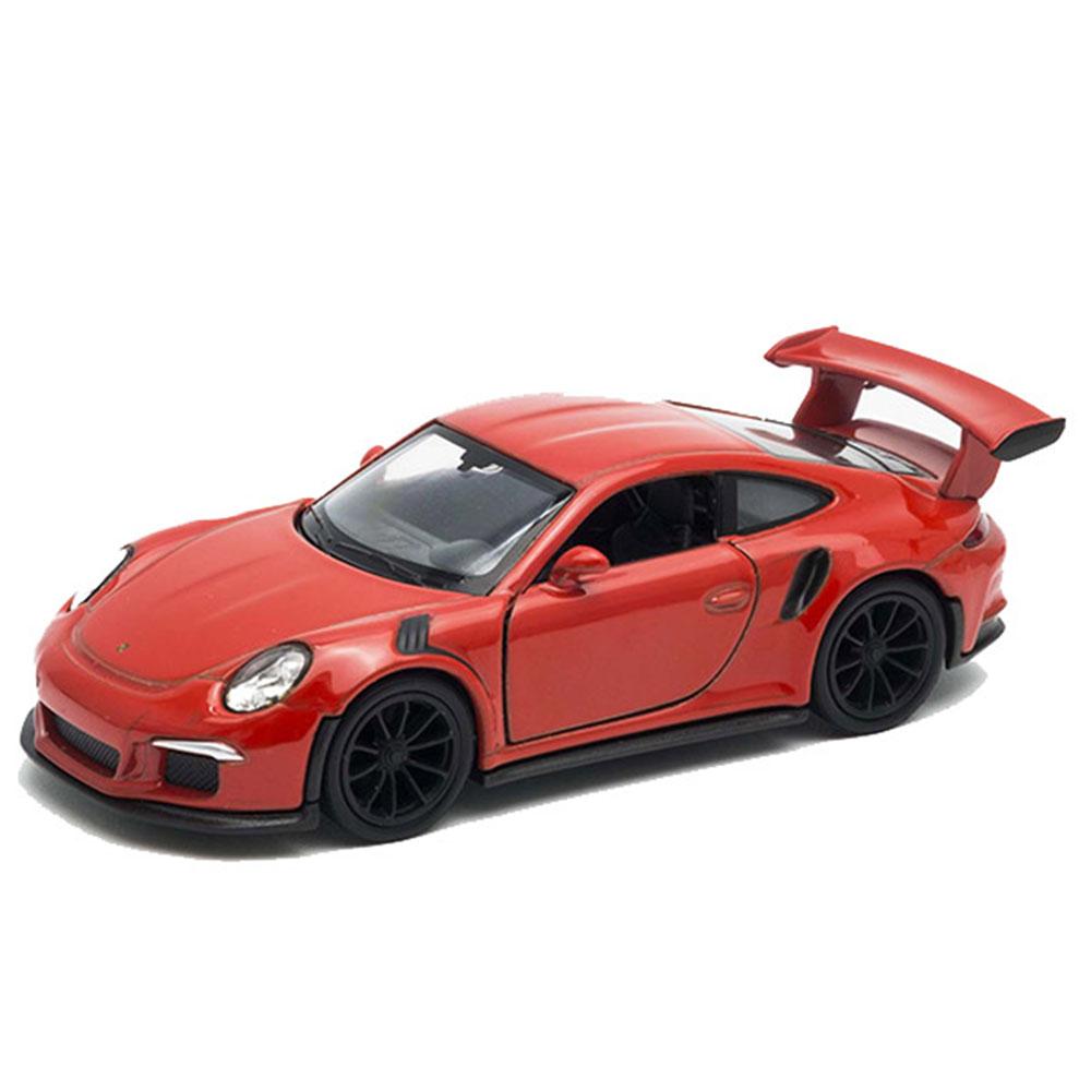 Модель машины Welly Porsche 911 GT3 RS 1:38 модель машины welly chevrolet corvet z06 1 38