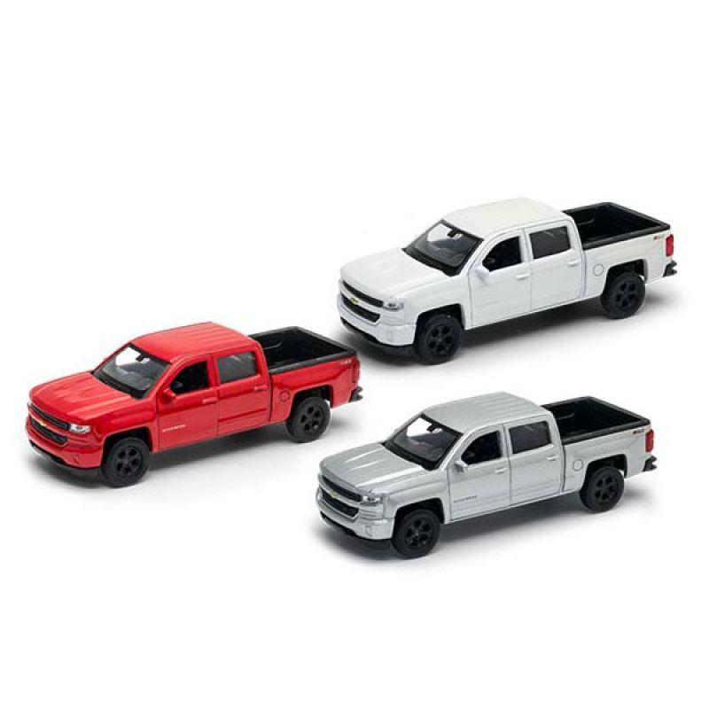 Модель машины Welly Chevrolet Silverado 1:38