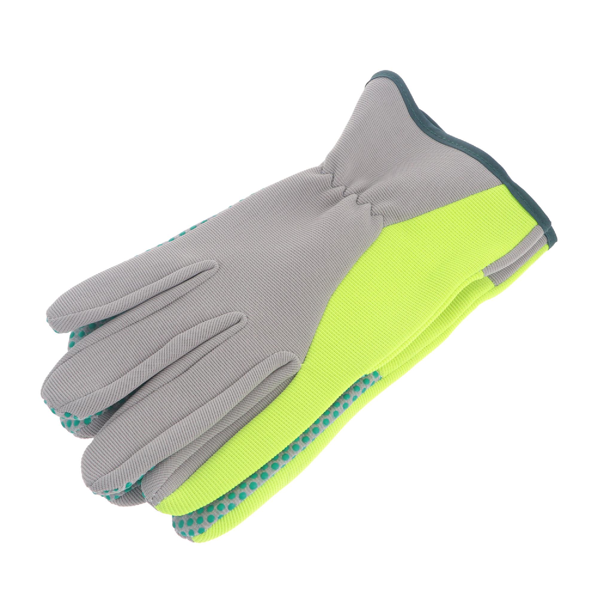 Фото - Перчатки садовые Verdemax серо-зеленые M перчатки садовые verdemax серо зеленые m