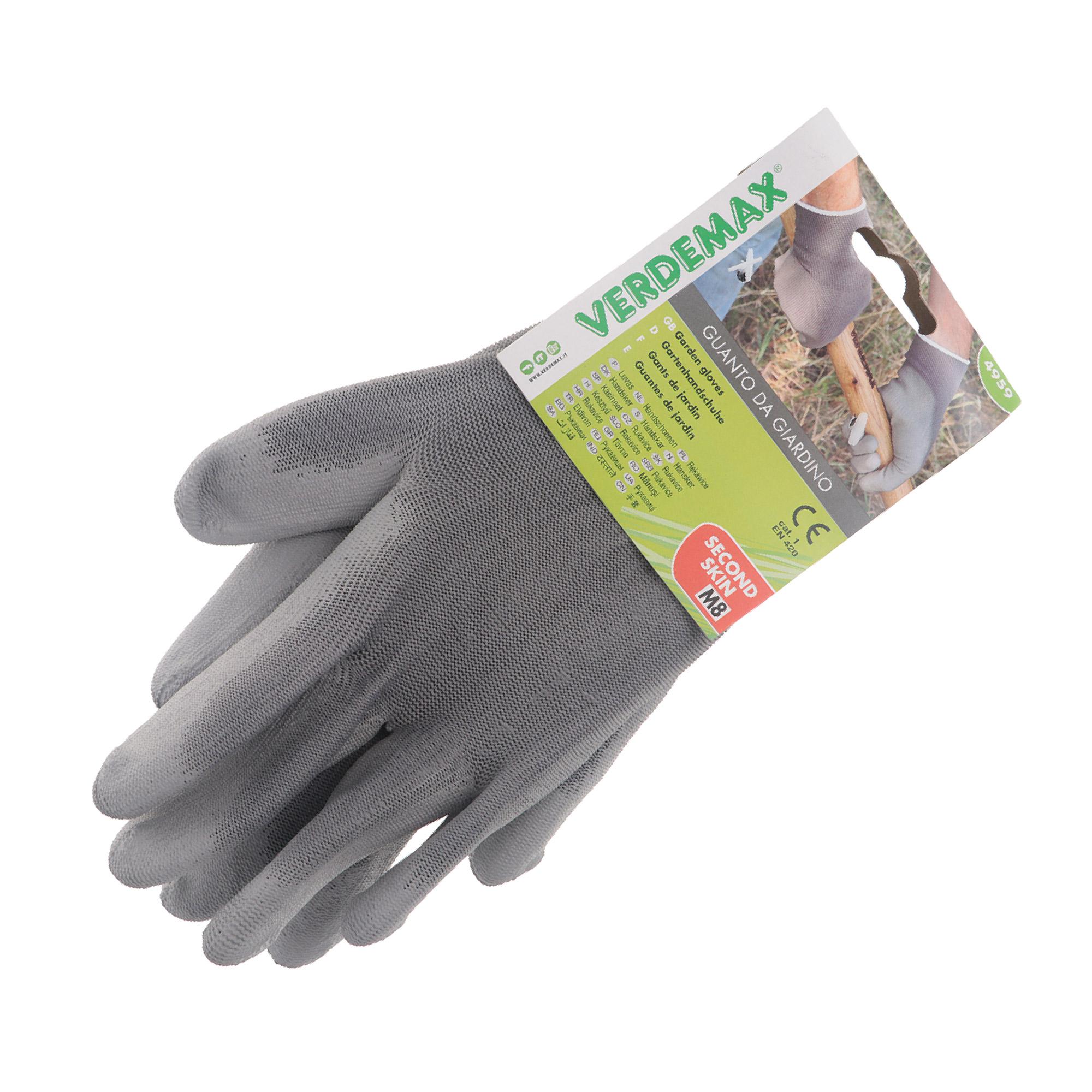 Фото - Перчатки садовые Verdemax серые L перчатки садовые verdemax серо зеленые m